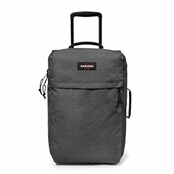 Eastpak TrafIk Light Equipaje de Ruedas, 33 litros, Gris (Black Denim