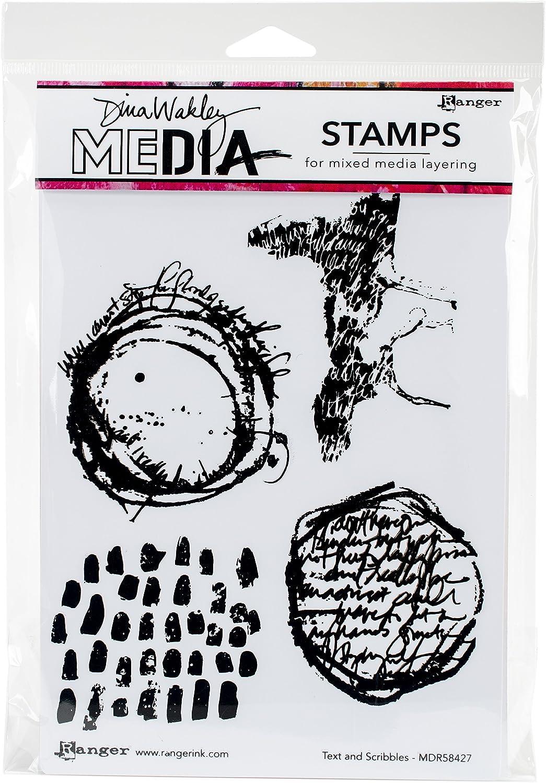 Dina Wakley Media Stencils 9X6-Branches Masks