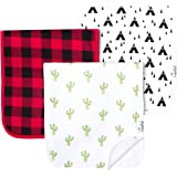 """Baby Burp Cloth Large Absorbent 3 Pack Gift Set Boys""""Phoenix"""" by Copper Pearl"""