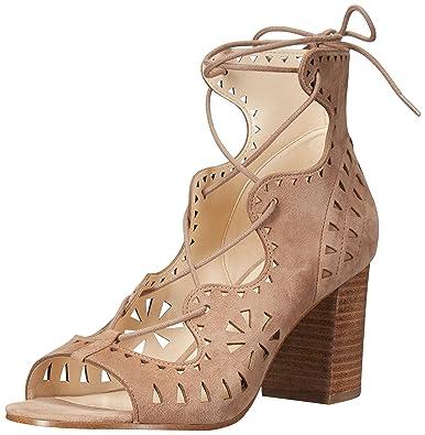 a60606c6964 Nine West Women s Gweniah Suede Dress Sandal Natural 6 M US