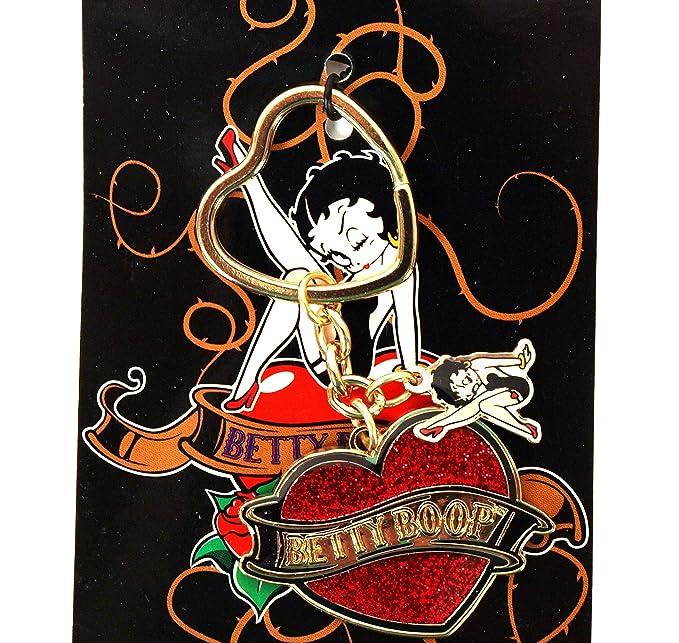 Desconocido Betty Boop Charming Llavero - Colgante y Llavero ...