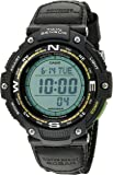 Casio Men's SGW-100B-3A2CF Twin Sensor Digital Display Quartz Black Watch