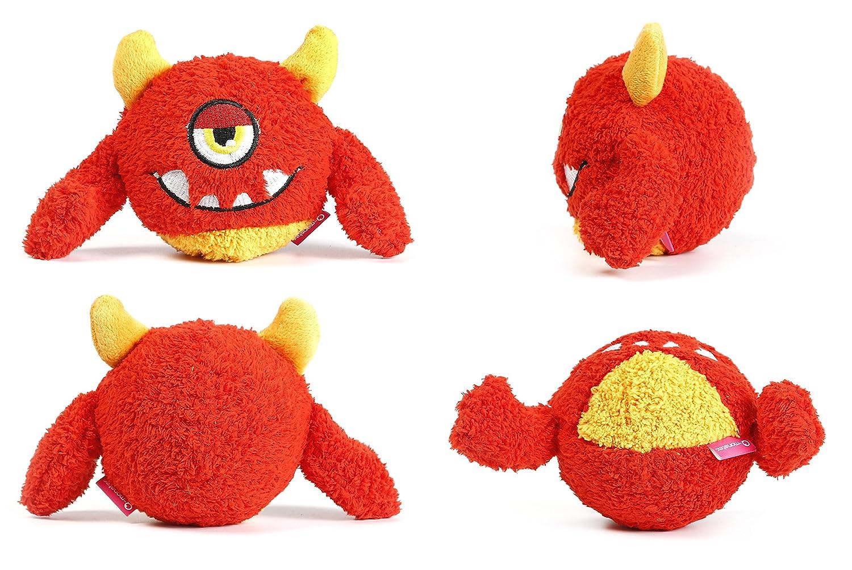 quietsch pelota para perros en el divertido Monster Perros Balón ...