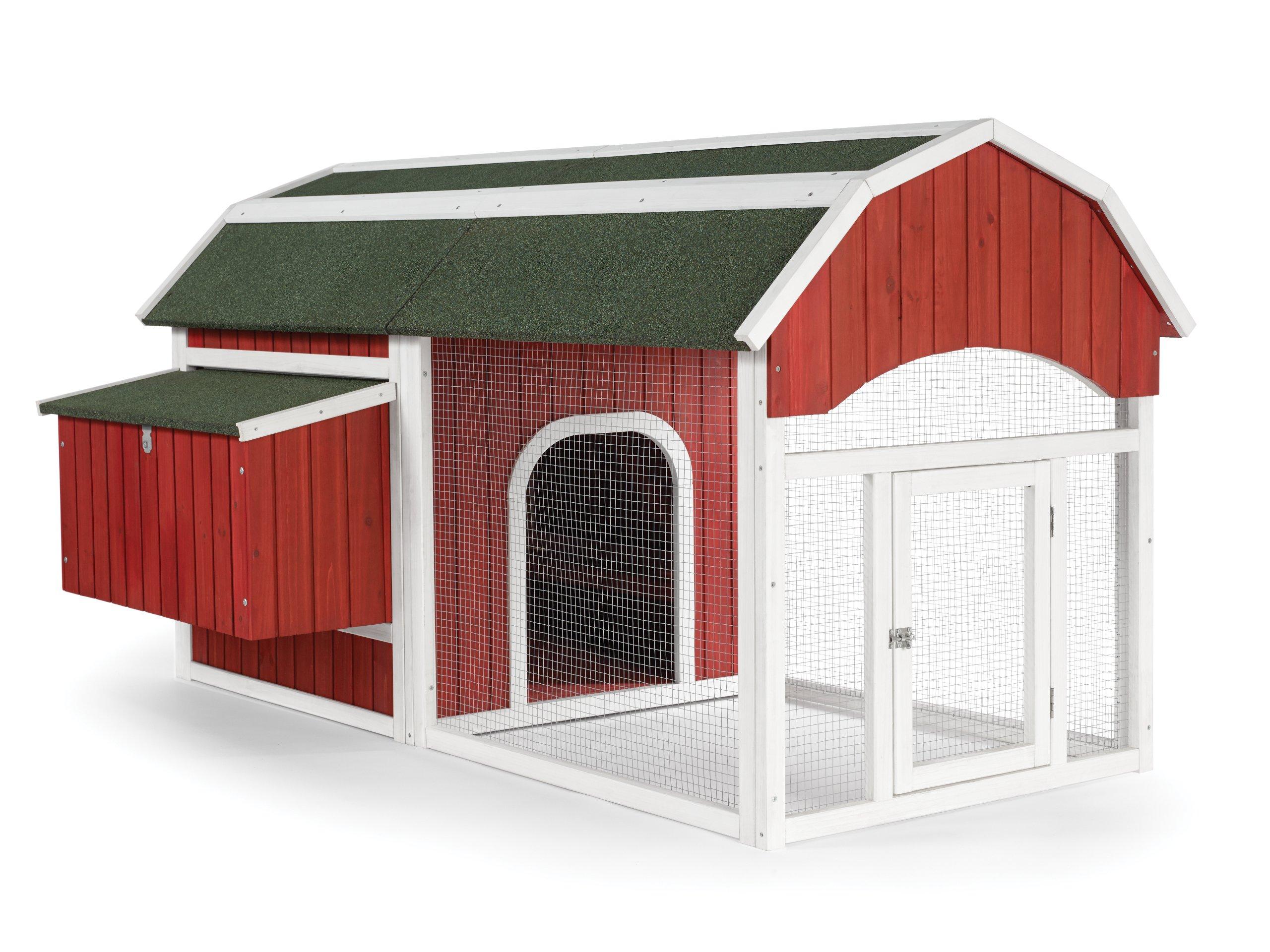 Prevue 465 Red Barn Chicken Coop