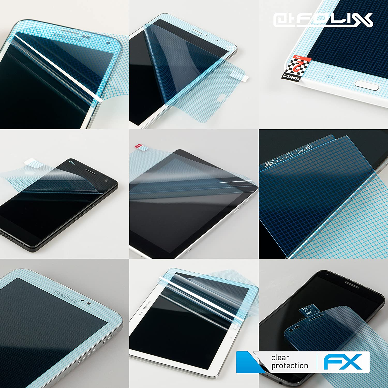 2X ultraklare FX Displayschutzfolie atFolix Schutzfolie kompatibel mit Lenovo IdeaPad D330 10 inch Folie
