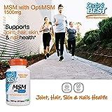 Doctor's Best MSM with OptiMSM, Non-GMO, Gluten