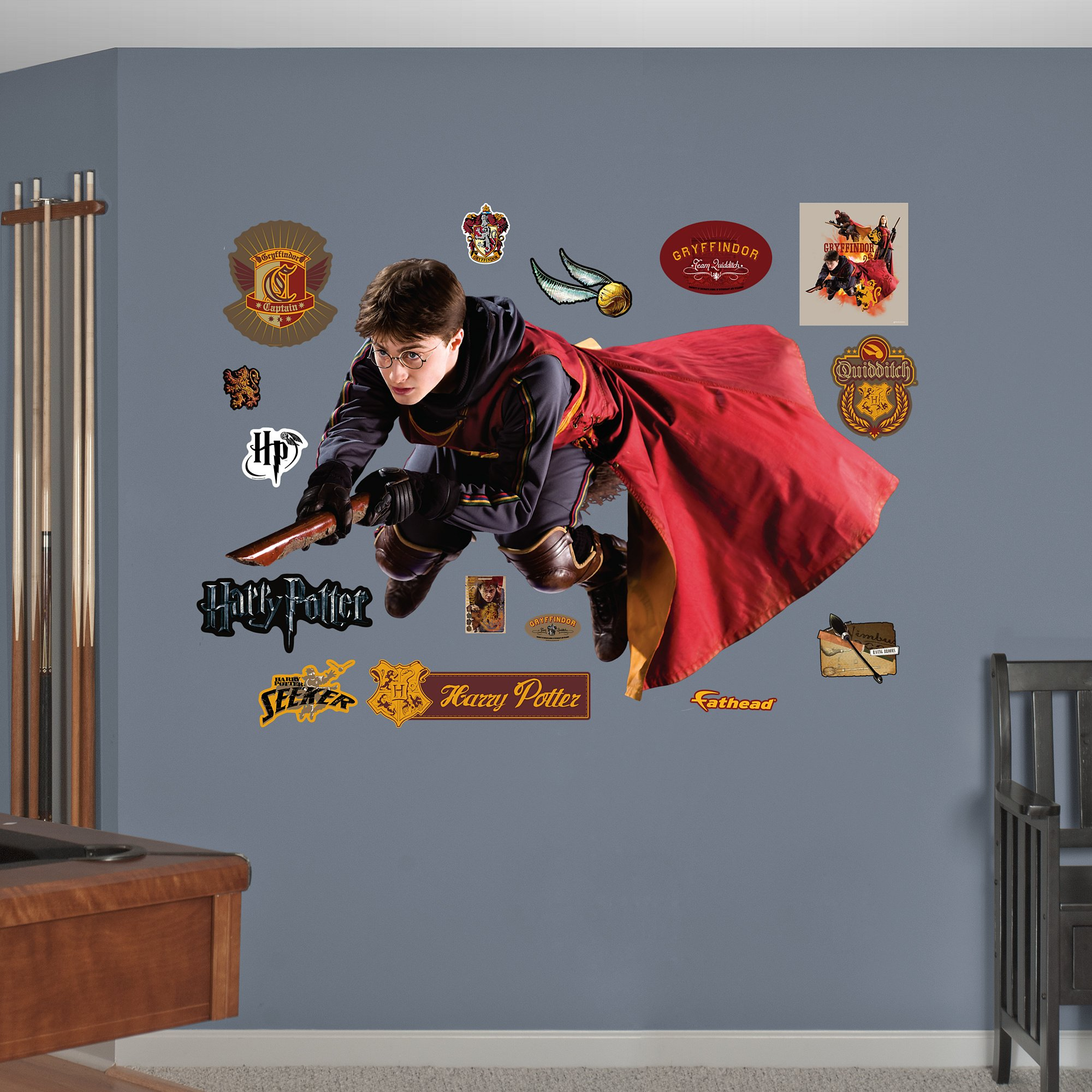 Fathead Harry Potter Quidditch Seeker Real Decals by FATHEAD