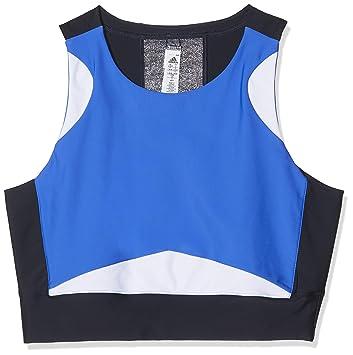 adidas Wanderlust Yoga – Sujetador Deportivo, Mujer, CV4710, Legink/Hirblu/White