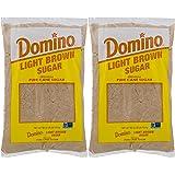 Domino Light Brown Sugar 2 LB (32 oz), Pack of 2