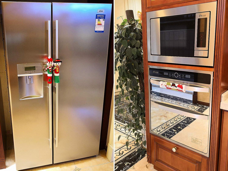 Dearsun Juego de 3 Fundas para Manillar de Cocina, frigorífico y ...