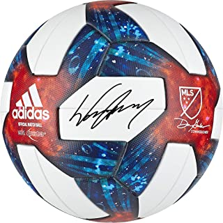Wayne Rooney D.C. United Autographed MLS Official Match Soccer Ball - Fanatics Authentic Certified - Autographed Soccer Balls