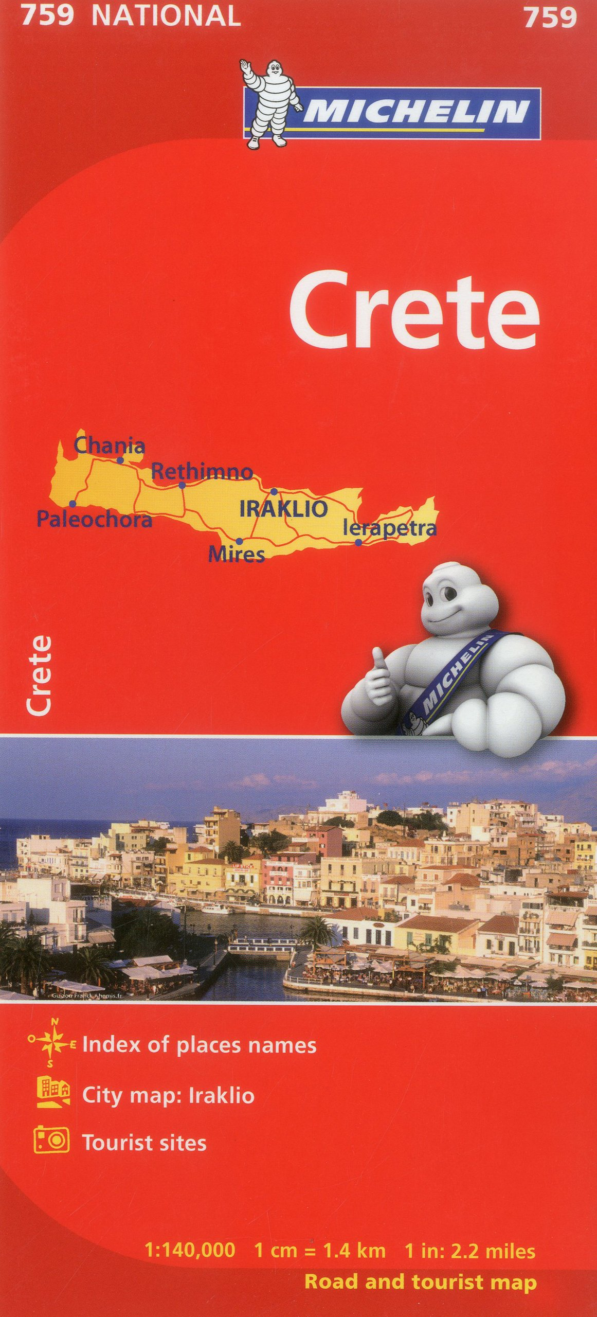 Michelin Crete (Michelin Maps)