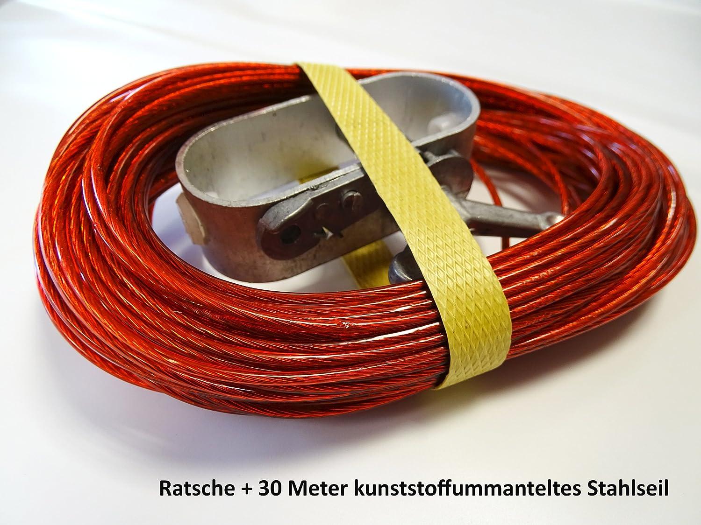 Grasekamp Set - 30m Spannseil und Spannratsche