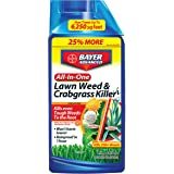 Bayer Advanced 704140 All-in-One Lawn Weed and Crabgrass Killer Concentrate, 40 Ounce