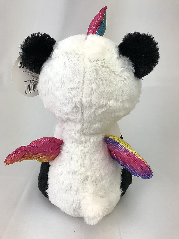 Cute /& Cuddly Pandacorn Plush Toy Panda Bear Unicorn with Rainbow Horn and Wings Panda-Corn Five Below