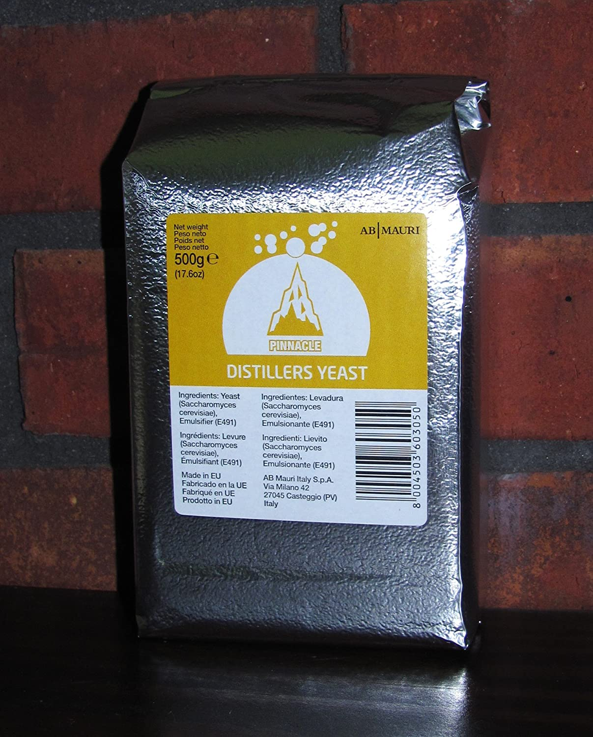 Amazon.com: PINNACLE DISTILLERS YEAST 500g BRICK FOR SCOTCH AND IRISH WHISKEYS: Industrial & Scientific