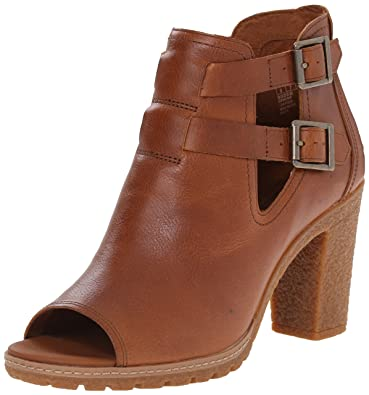 0fc6eb0aad72 Timberland Womens 8027b Glancy Peep Toe in Buckthorne Brown Journeymen  UK8 US10