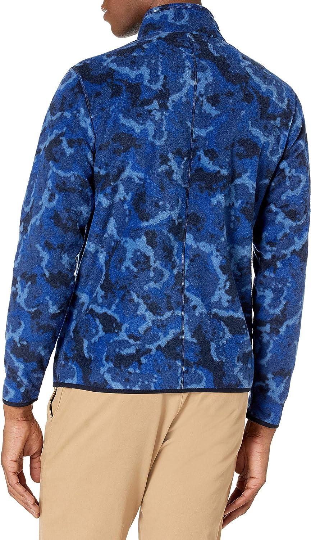 Essentials Men's Quarter-Zip Polar Fleece Jacket: Clothing