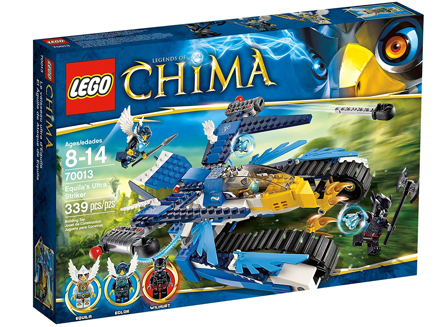 Top 9 Best LEGO Chima Sets Reviews in 2020 3