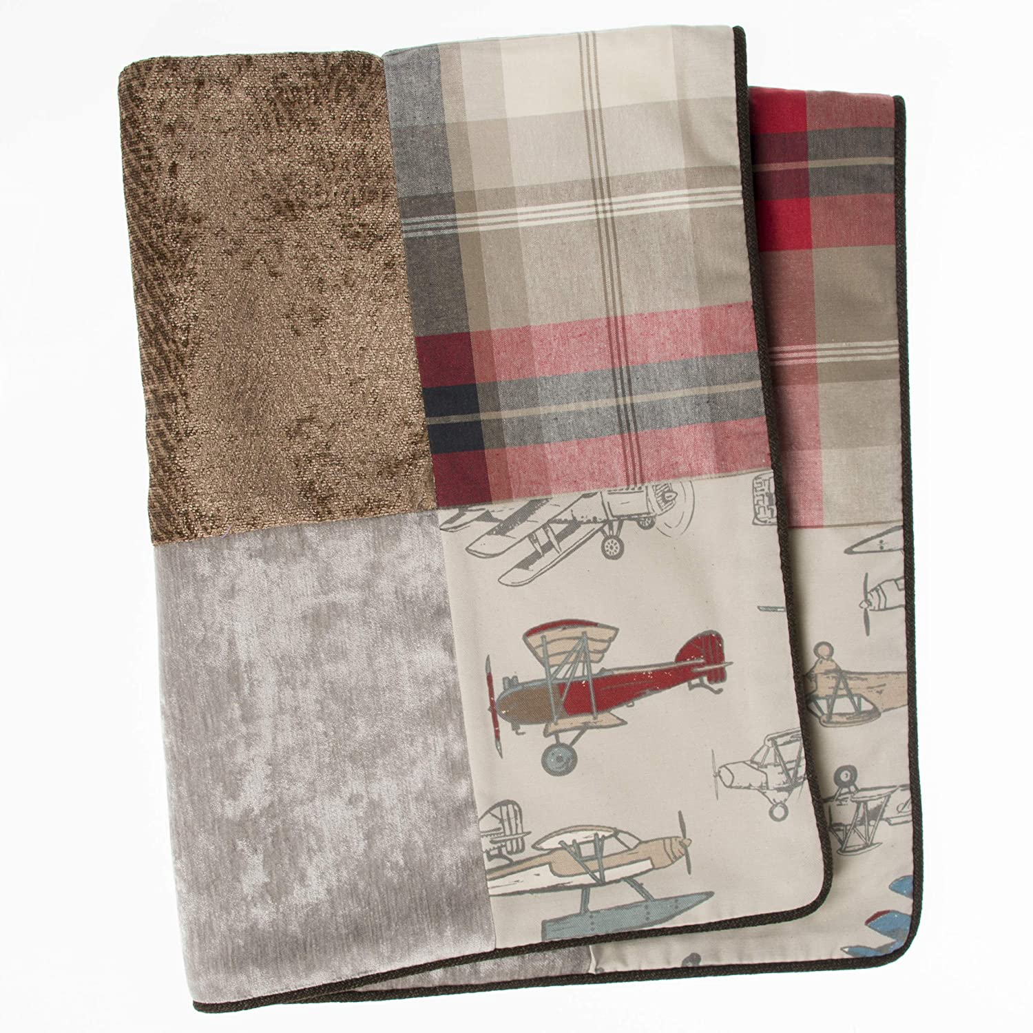 Taupe//Grey//Blue//Brown//Red Glenna Jean Fly-by 3 Piece Set