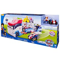Paw Patrol 6024966 - PAW Patroller, Teamfahrzeug, Laster, Autotransporter, Transporter, TV Helden, Vorschulkind
