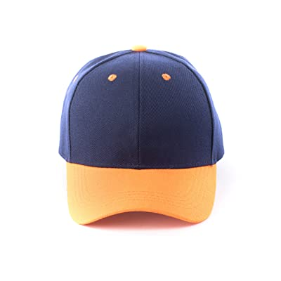 JNTOP Unisex Classic Two-Tone Baseball Caps