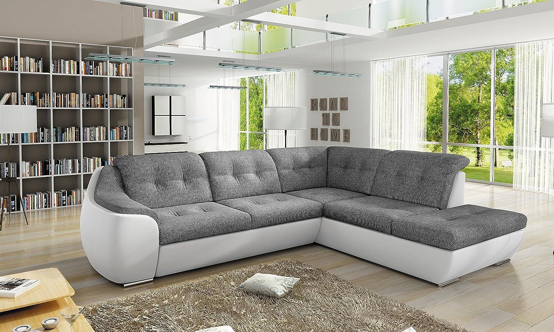 Sofa Couchgarnitur GALAXY D Polstergarnitur Couch Sofagarnitur Wohnlandschaft Schlaffunktion