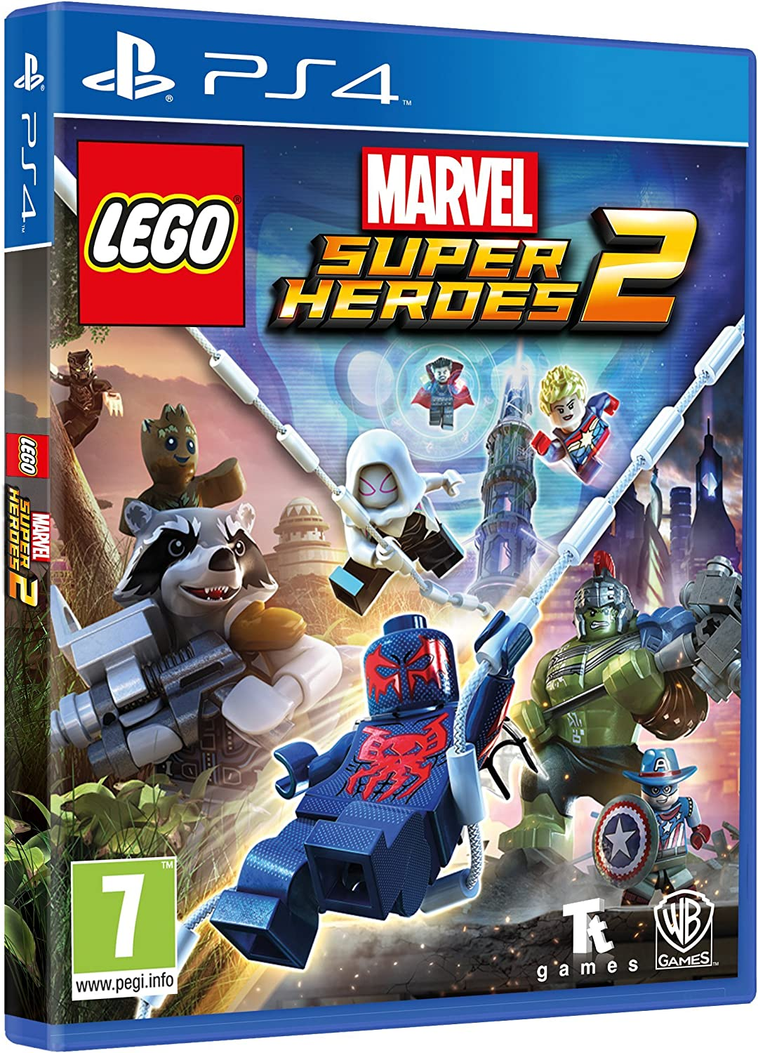 Lego Marvel Super Heroes 2 - Edición Exclusiva Amazon - PlayStation 4