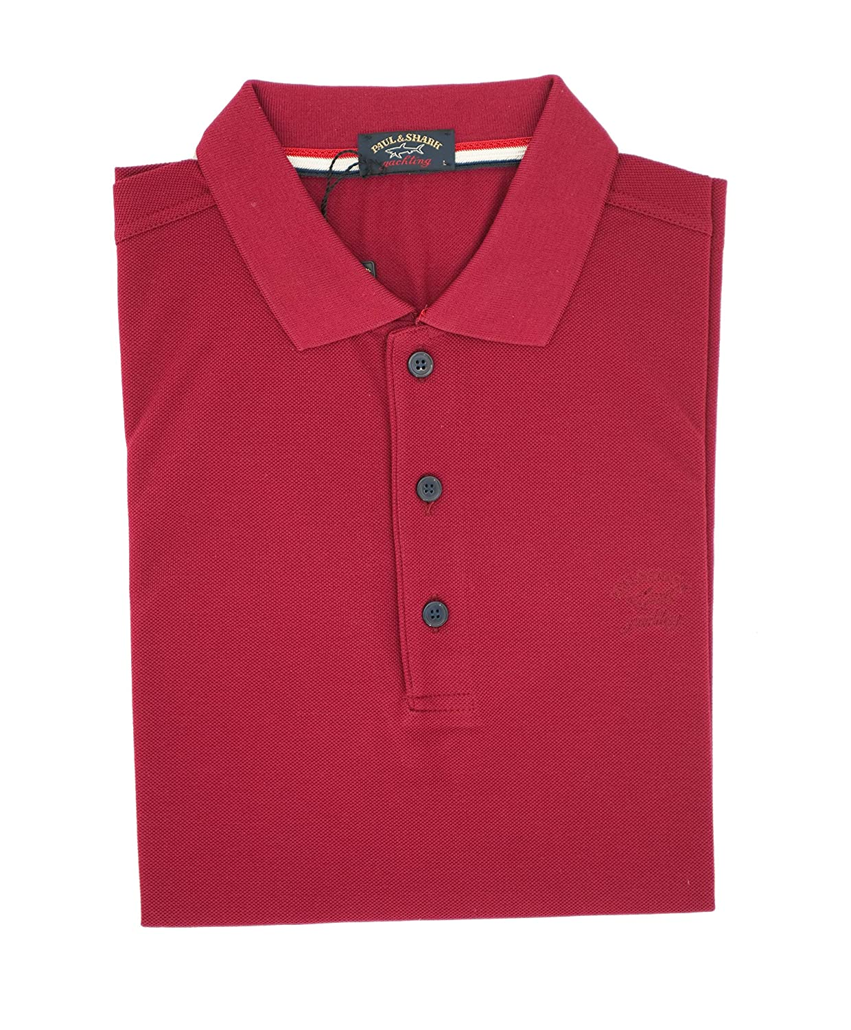 PAUL & SHARK Polo, Informal, Regular, algodón Rojo XL: Amazon.es ...