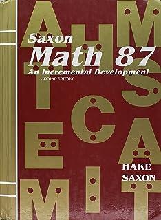 Saxon math 76 john saxon 9780939798742 amazon books saxon math 87 an incremental development fandeluxe Choice Image