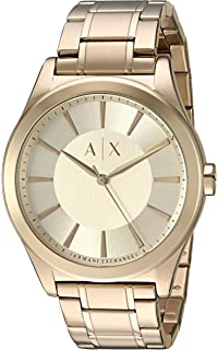 Armani Exchange Mens AX2321 Gold Quartz Watch