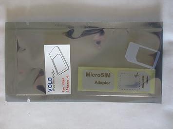 Micro SIM Adapter Apple IPhone 4 IPad Von Bennys Store