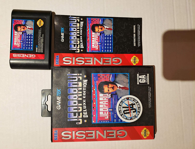 Jeopardy: Deluxe Edition - Sega Genesis