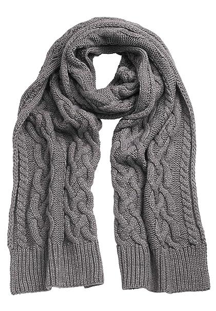 Amazon.com: Ellos para mujer Plus tamaño bufanda, talla ...