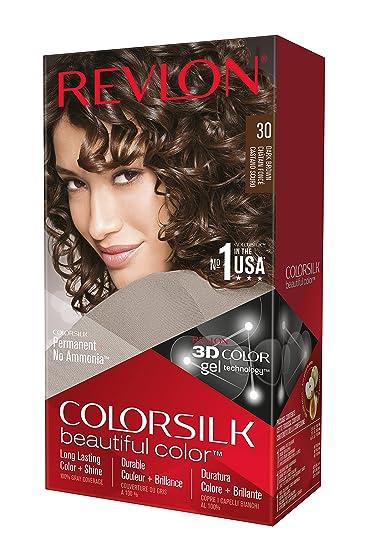 Amazon Revlon Colorsilk Permanent Color Dark Brown 30