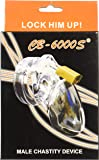 CB6000s, Clear: Male Chastity Belt Cage