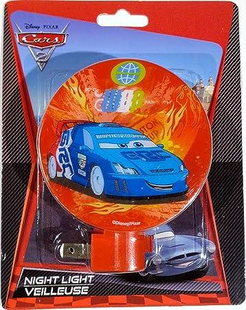 Amazon.com: Disney Pixar Cars 2 luz nocturna World Grand ...