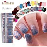 HIGH'S Pattern Series 2016 Fall Collection Manicure Nail Stickers Nail Wraps