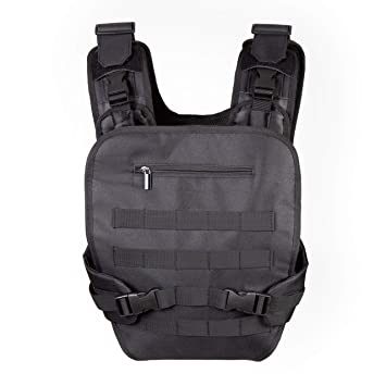 ccb03b41274 JumpOff Jo - Wingman Military-Inspired Baby Carrier for Men - Soft Front  Pack Baby
