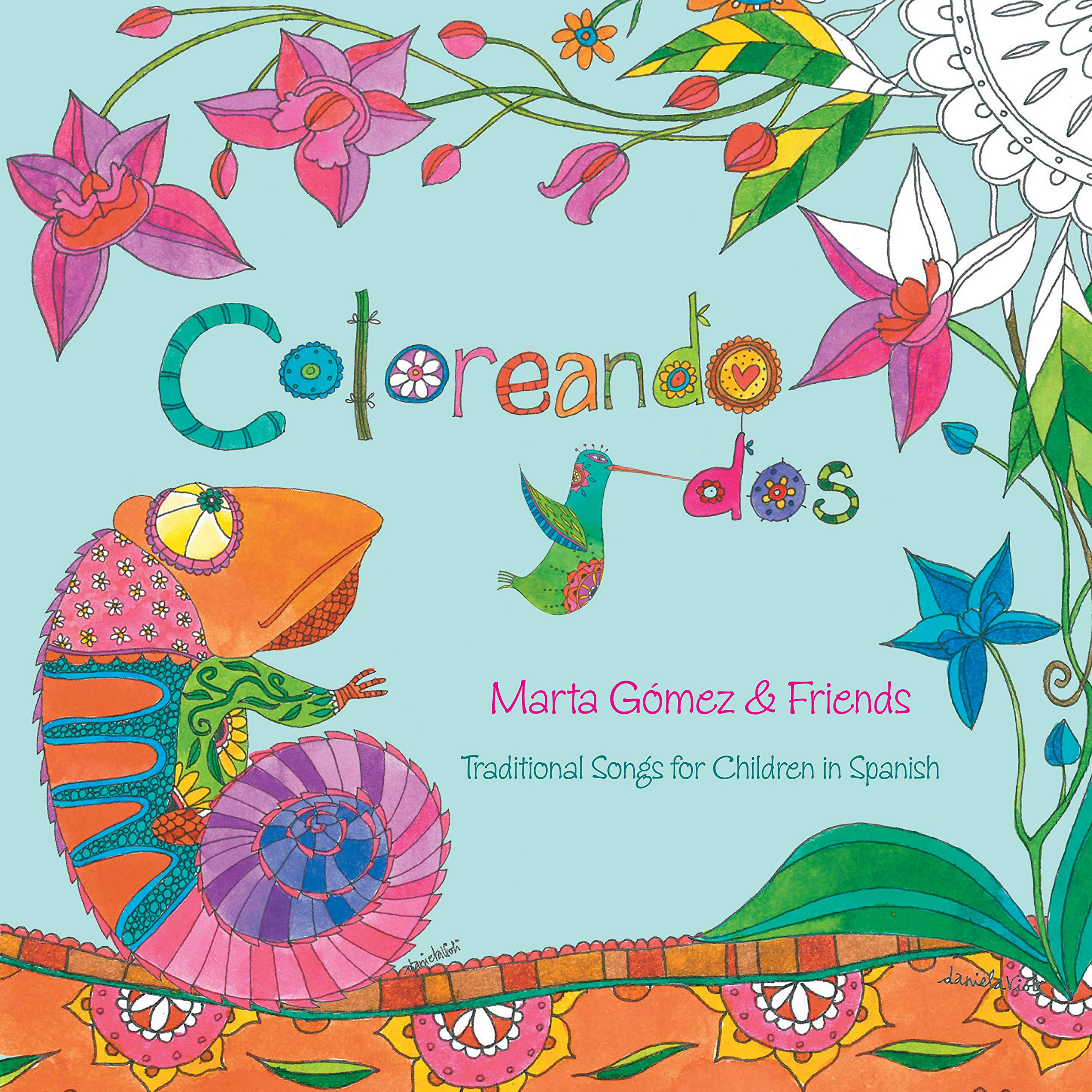 CD : Marta Gomez - Coloreando Dos (CD)