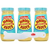 Durkee Famous Sandwich & Salad Sauce - 10 oz Pack of 3 - With Exclusive By The Cup Spreader
