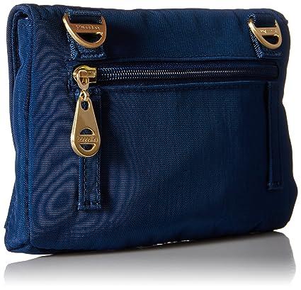 54a5764e6 Baggallini Seville Mini Crossbody Travel Bag Gold Hardware, Pacific, One  Size: Handbags: Amazon.com
