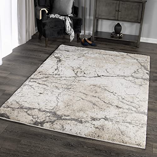 Orian Rugs Super Shag Collection 392630 Marquina Area Rug