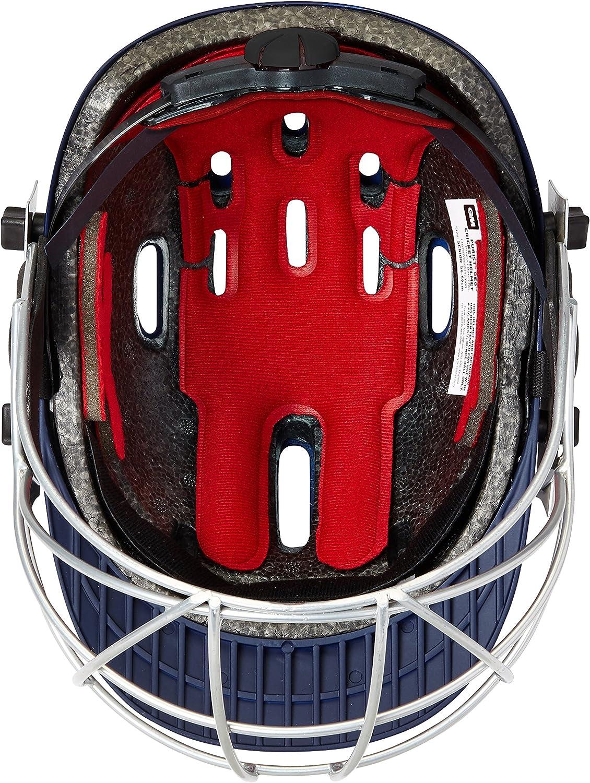 Navy Blue 2019 Edition Gunn /& Moore GM Cricket Purist II Helmet