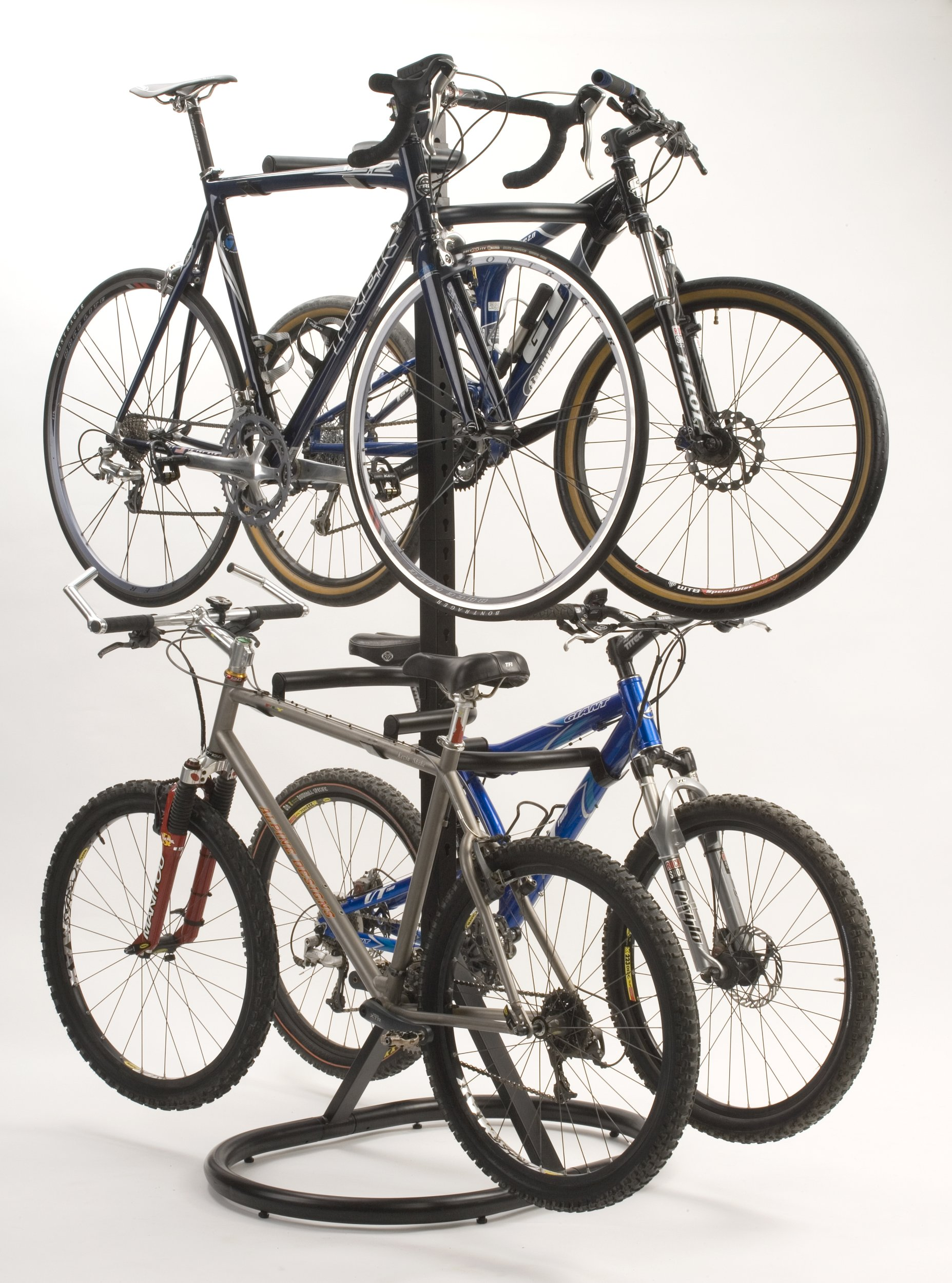 Racor Pro PLB-4R Gravity Freestanding Bike Stand