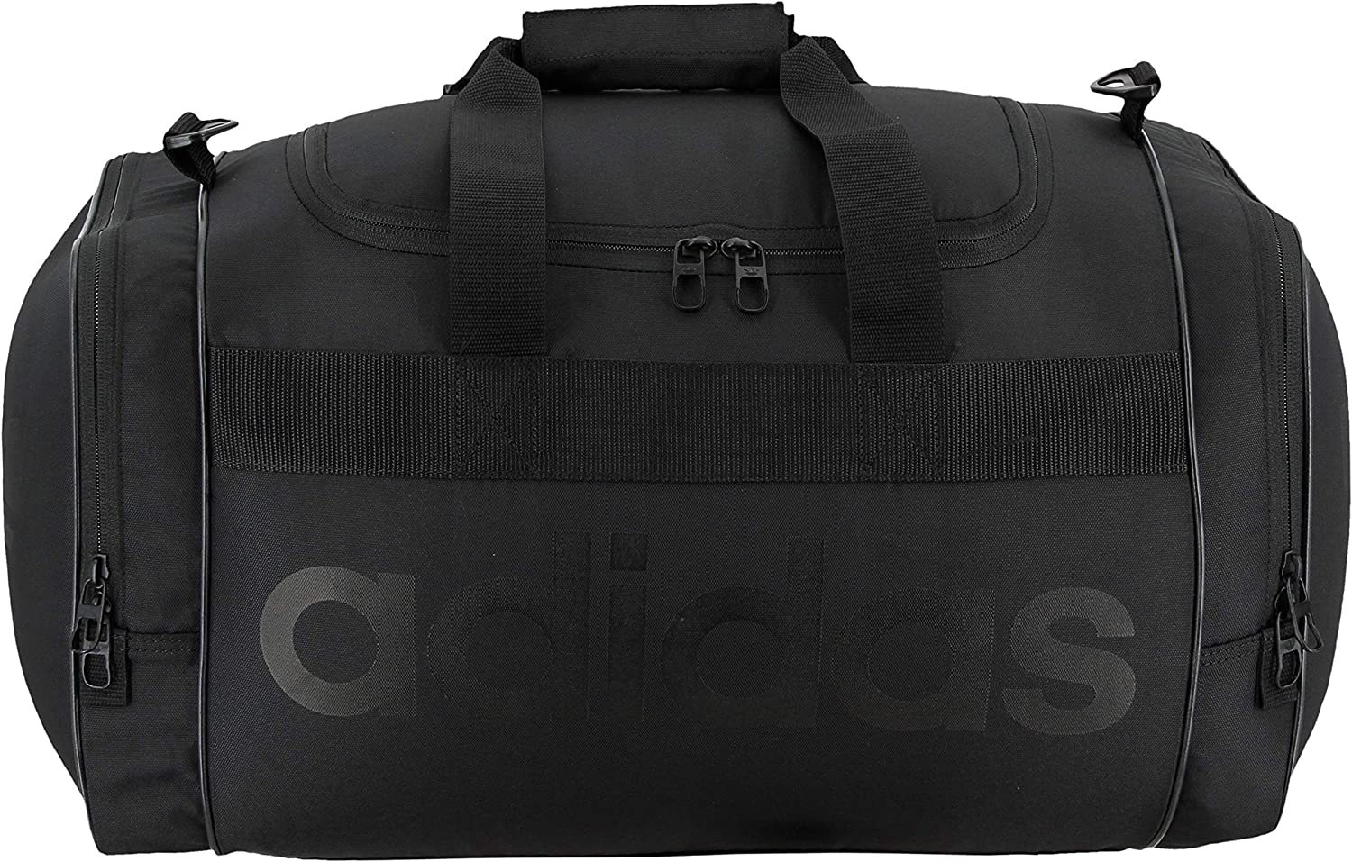 adidas Originals Unisex Santiago Duffel Bag, Black Black, ONE SIZE