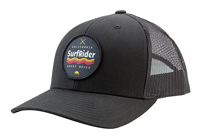 fd9d922f1851a1 Amazon.com: Camoris Men's California Surf Rider Logo Baseball Cap ...