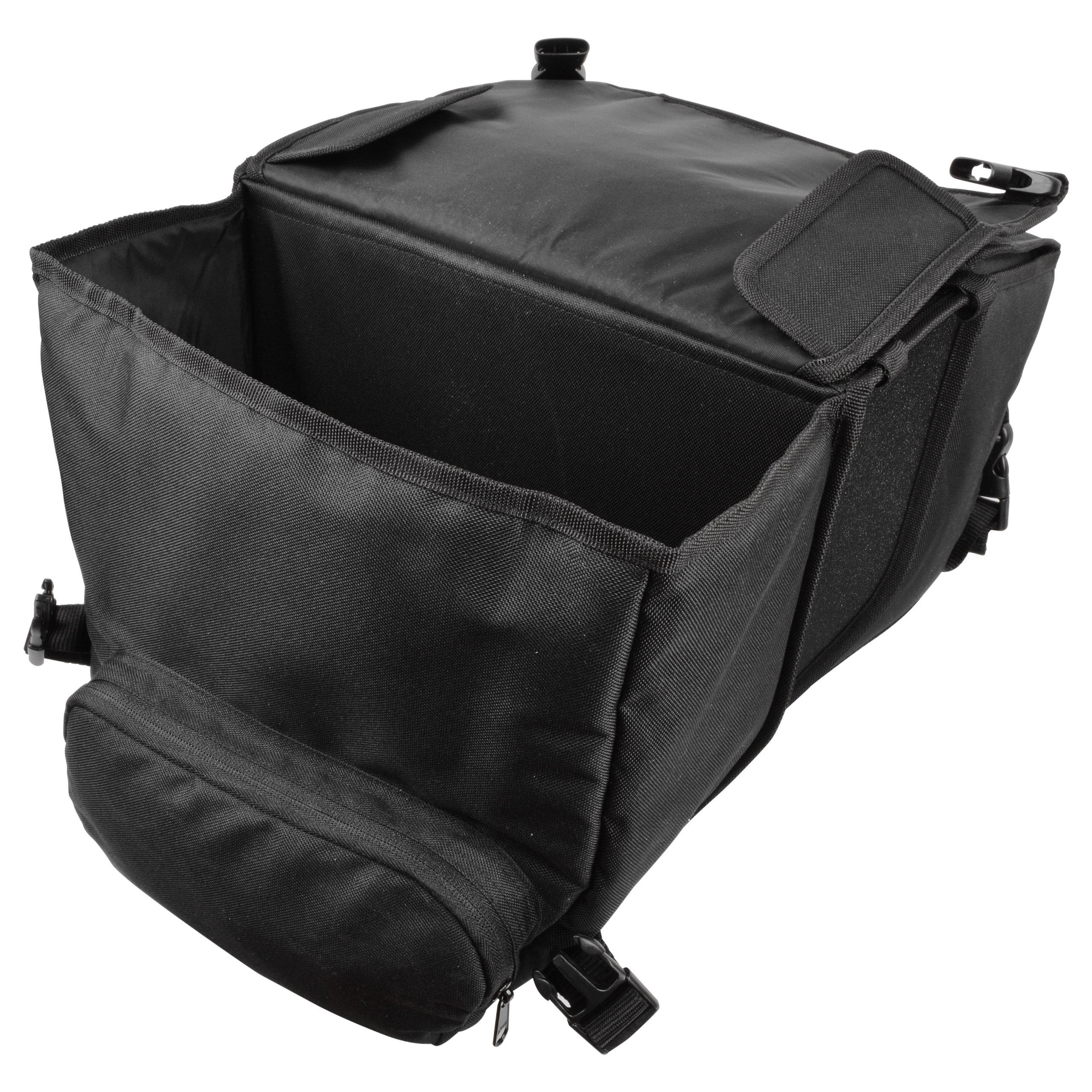 Ibera Bicycle Side-Mounting Pannier Set, Bike Panniers with Multi-Compartments, Slit on Top to Mount on Smaller Racks  by Ibera (Image #7)
