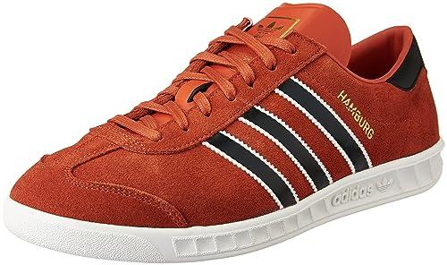 buy popular 6ea6b 242b3 adidas Hamburg, Zapatillas Hombre, Varios colores (Crachi Cblack Goldmt),  40  Amazon.es  Zapatos y complementos