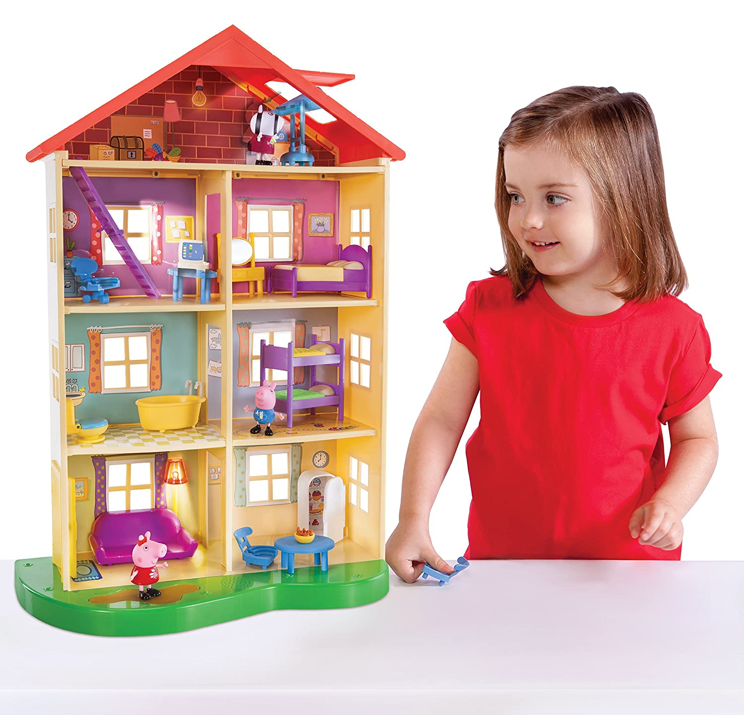 Top 9 Best Dollhouse for Toddlers Reviews in 2019 5